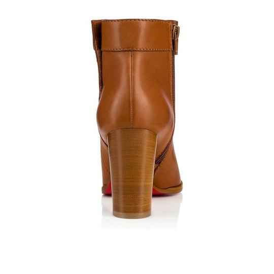 Christian Louboutin Stiletto Ankle Classic Gena brown Boots Image 9