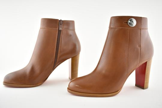 Christian Louboutin Stiletto Ankle Classic Gena brown Boots Image 8