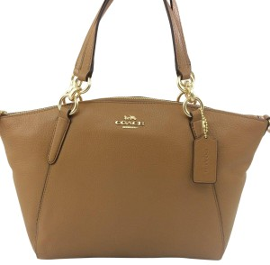 Coach Satchel in Light Saddle - item med img