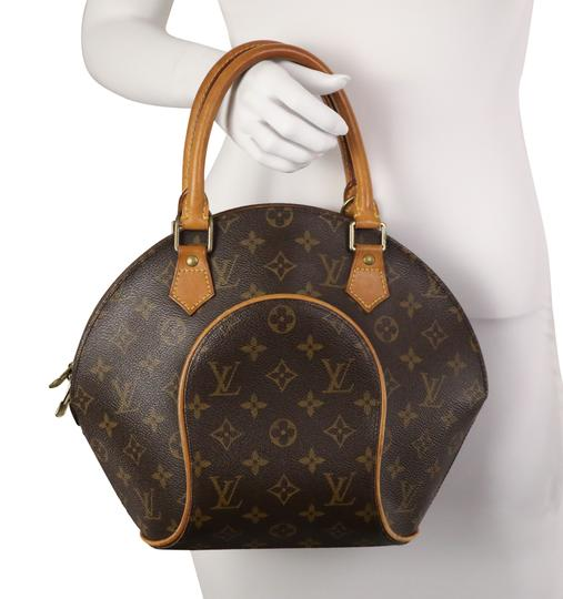 Louis Vuitton Satchel in Brown Image 10