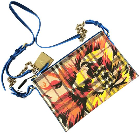 Preload https://img-static.tradesy.com/item/26409589/burberry-new-flower-print-check-peyton-wristlet-mineral-bue-leathercanvas-cross-body-bag-0-1-540-540.jpg
