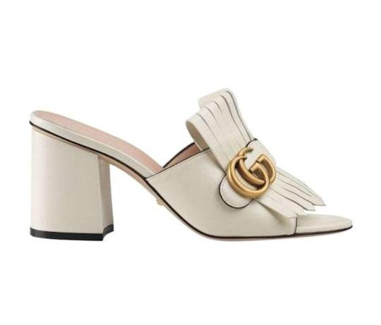 Preload https://img-static.tradesy.com/item/26409658/gucci-white-marmont-gf-leather-mid-heel-slide-with-double-g-5-sandals-size-eu-35-approx-us-5-regular-0-0-540-540.jpg