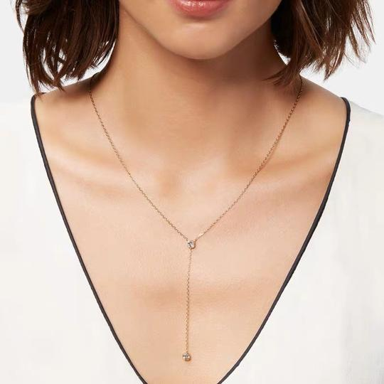 Henri Bendel Luxe Pave Halo Y Necklace Image 8
