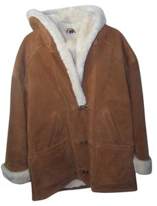 Gallery light brown Leather Jacket