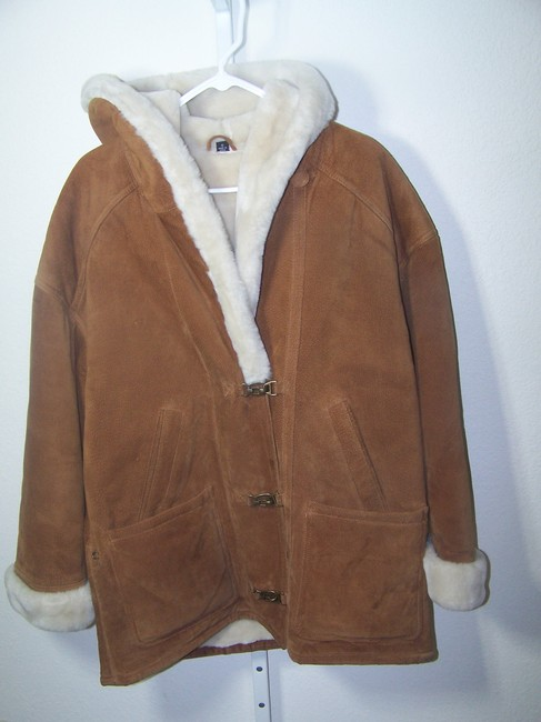 Gallery light brown Leather Jacket Image 1