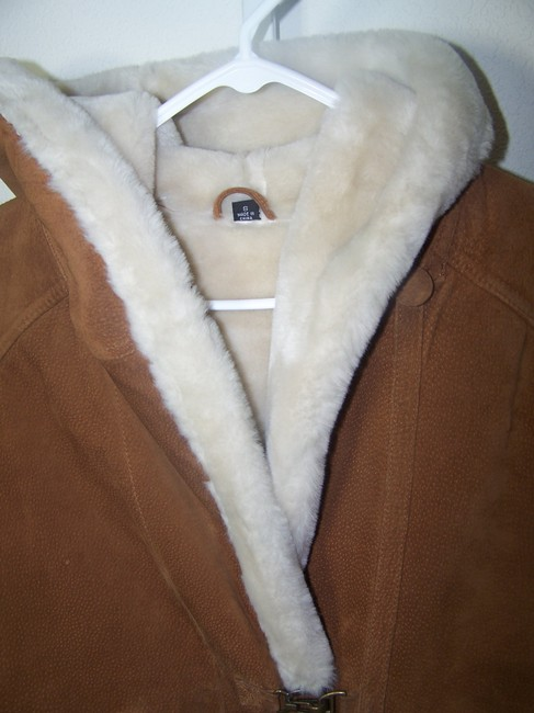 Gallery light brown Leather Jacket Image 2