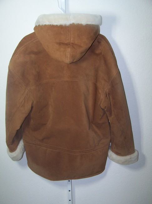 Gallery light brown Leather Jacket Image 3
