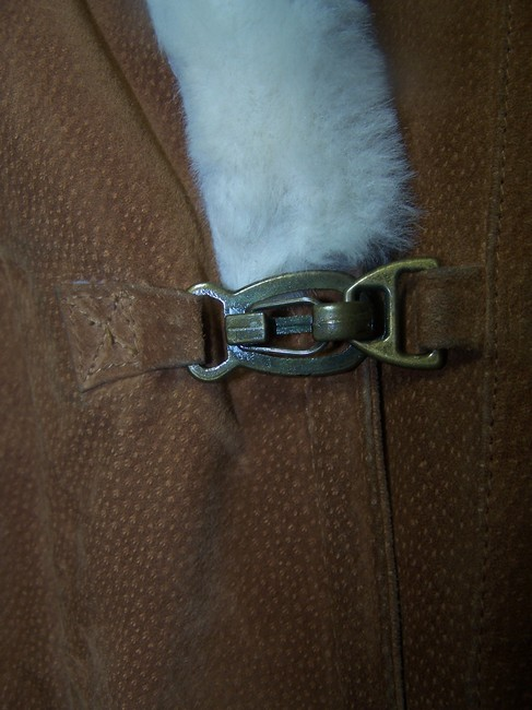 Gallery light brown Leather Jacket Image 5