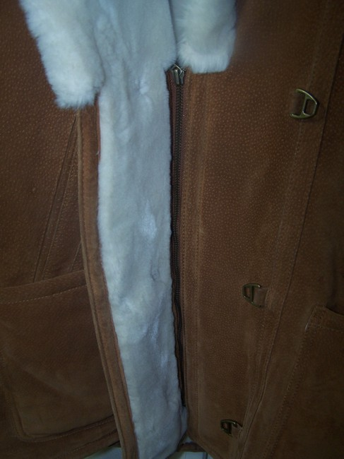 Gallery light brown Leather Jacket Image 6