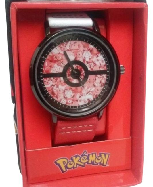 Item - Red Black Pokemon Watch