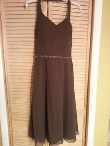 Alfred Angelo Brown/Expresso 6323 Dress