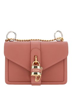 Chloé Calf Leather Aby Shoulder Bag