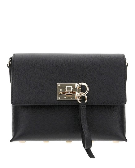 Preload https://img-static.tradesy.com/item/26411643/salvatore-ferragamo-black-calf-leather-shoulder-bag-0-0-540-540.jpg