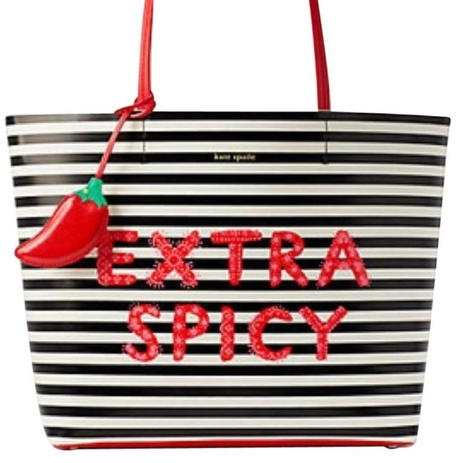 Item - Extra Spicy Little Len Wkru5474 Multicolor Leather Tote