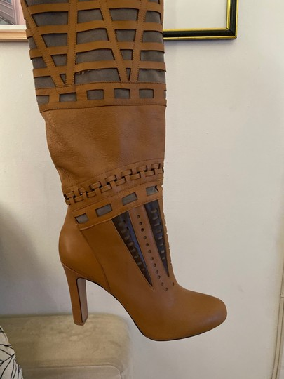 7 For All Mankind cognac brown Boots Image 1