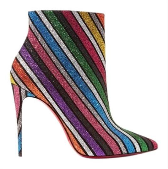 Preload https://img-static.tradesy.com/item/26411688/christian-louboutin-multi-color-so-kate-glittered-ankle-bootsbooties-size-eu-355-approx-us-55-regula-0-1-540-540.jpg