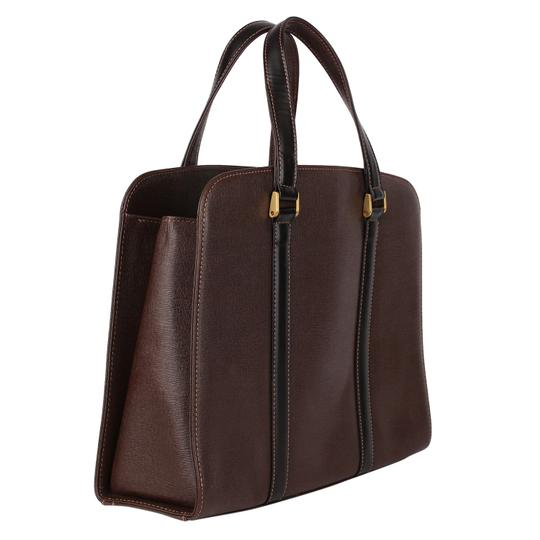 Burberry Checkered Vintage Classic Tote in Brown Image 2
