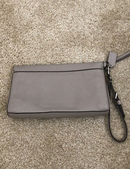 Coach Wristlet in Gray Image 1