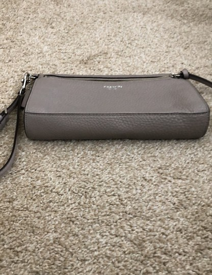 Coach Wristlet in Gray Image 4