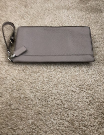 Coach Wristlet in Gray Image 5