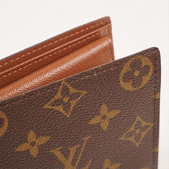 Louis Vuitton Louis Vuitton Folded Wallet Monogram Marco Wallet M62288 Image 6
