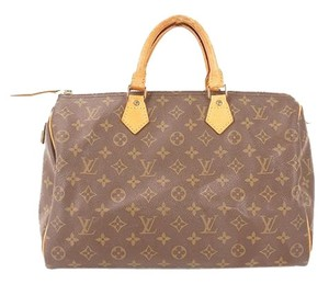 Louis Vuitton Satchel in Brown / Monogram