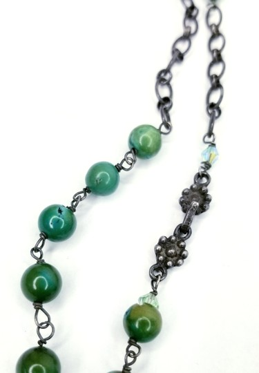 Kinley Sterling Silver Peace Wrap Turquoise Necklace Image 7