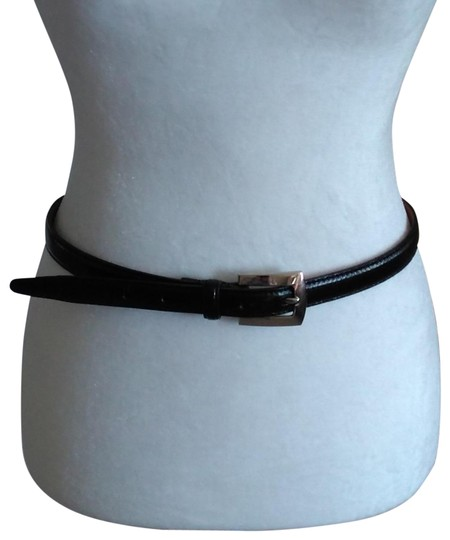 Preload https://img-static.tradesy.com/item/26411845/stone-mountain-accessories-black-vtg-skinny-with-silver-buckle-size-14-belt-0-1-540-540.jpg