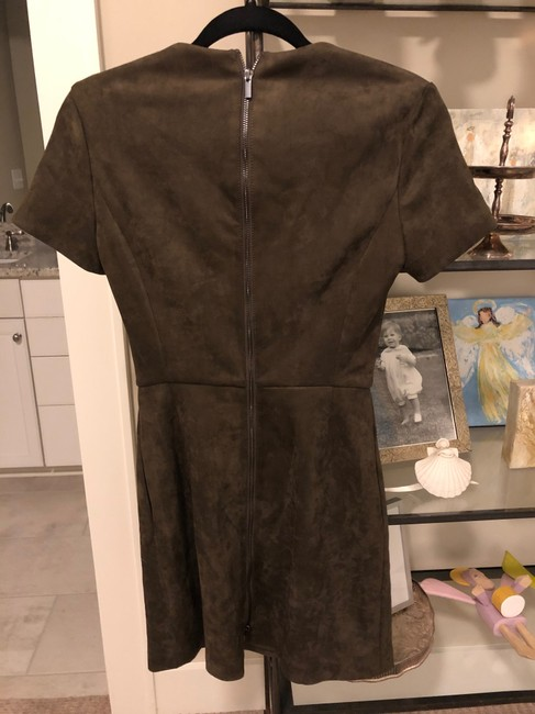French Connection short dress Green Suede on Tradesy Image 2