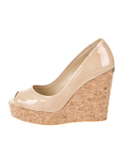 Preload https://img-static.tradesy.com/item/26411869/jimmy-choo-nude-beige-papina-patent-leather-peep-toe-cork-sandal-wedges-size-eu-39-approx-us-9-regul-0-0-540-540.jpg