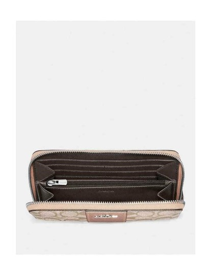 Coach Coach Accordian Zip Wallet with Box Image 2