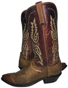 Lucchese 1883 Women Size 9 Western Size 9 Cowgirl Size 9 Brown Boots