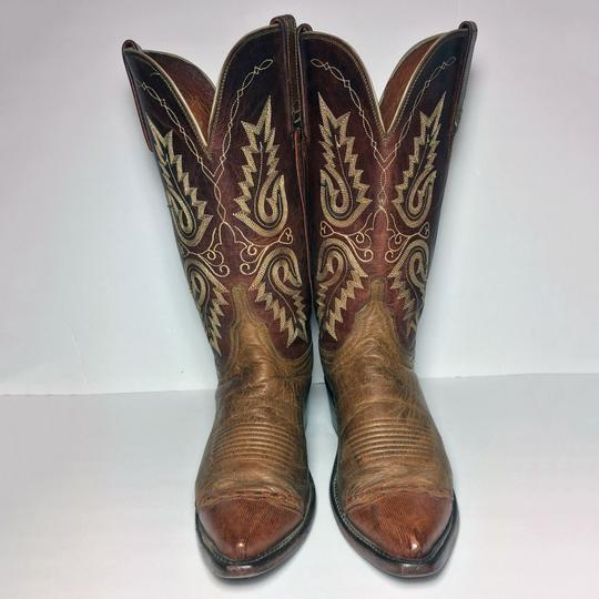 Lucchese 1883 Women Size 9 Western Size 9 Cowgirl Size 9 Brown Boots Image 1