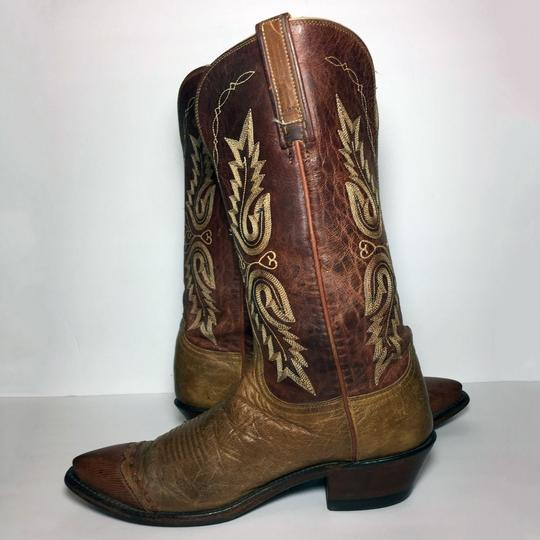 Lucchese 1883 Women Size 9 Western Size 9 Cowgirl Size 9 Brown Boots Image 2