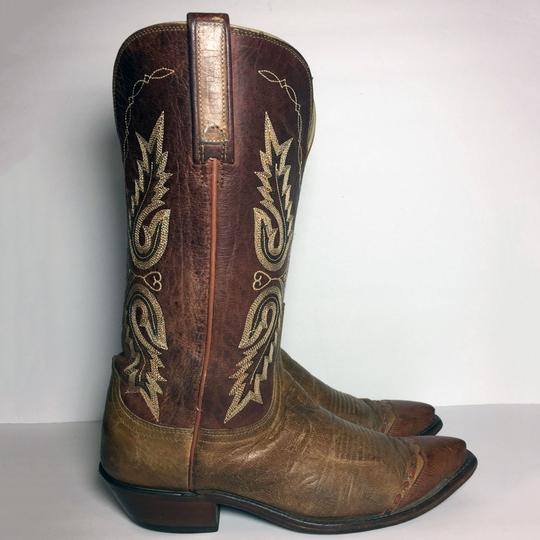 Lucchese 1883 Women Size 9 Western Size 9 Cowgirl Size 9 Brown Boots Image 3