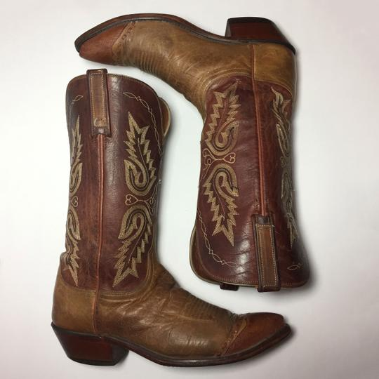 Lucchese 1883 Women Size 9 Western Size 9 Cowgirl Size 9 Brown Boots Image 4