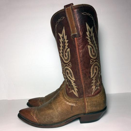 Lucchese 1883 Women Size 9 Western Size 9 Cowgirl Size 9 Brown Boots Image 5