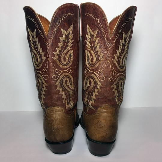 Lucchese 1883 Women Size 9 Western Size 9 Cowgirl Size 9 Brown Boots Image 7