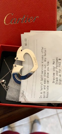 Cartier Cartier Book Mark/necklace/ Image 5