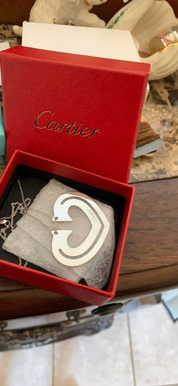 Cartier Cartier Book Mark/necklace/ Image 7