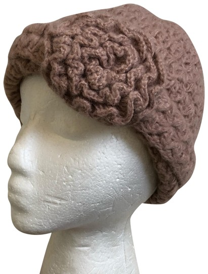 Preload https://img-static.tradesy.com/item/26411919/wooden-ships-dusty-rose-mohair-wool-blend-knit-rosette-hat-0-1-540-540.jpg