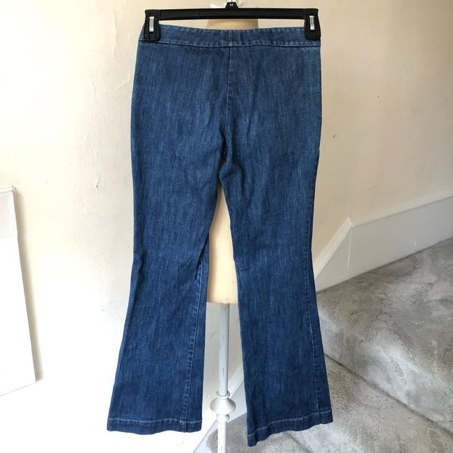 Theory Trouser/Wide Leg Jeans Image 1