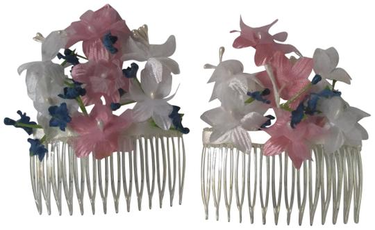 Preload https://img-static.tradesy.com/item/26412062/white-blue-pink-floral-side-combs-hair-accessory-0-1-540-540.jpg