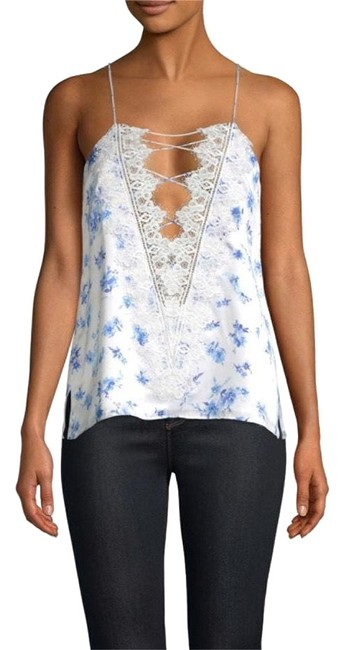 Preload https://img-static.tradesy.com/item/26412098/cami-nyc-azure-floral-charlie-silk-lace-up-blouse-size-8-m-0-1-650-650.jpg