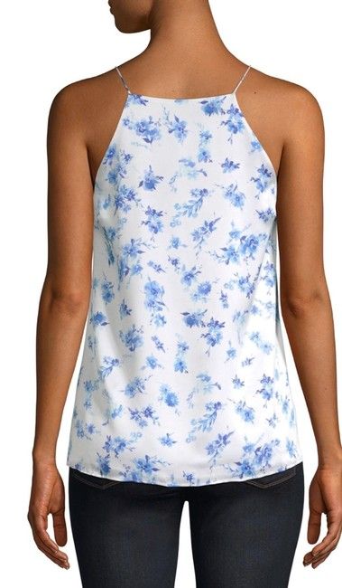 Cami NYC Top Azure Floral Image 2