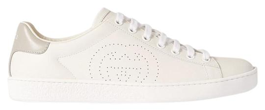 Preload https://img-static.tradesy.com/item/26412108/gucci-white-and-gray-ace-with-interlocking-g-sneakers-size-eu-35-approx-us-5-regular-m-b-0-1-540-540.jpg