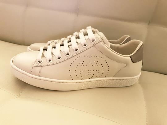 Gucci Ace Sneaker Gg White and gray Athletic Image 7