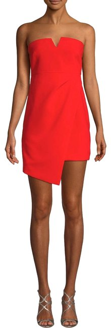 Preload https://img-static.tradesy.com/item/26412133/likely-coral-red-wynonna-strapless-mini-short-cocktail-dress-size-00-xxs-0-1-650-650.jpg