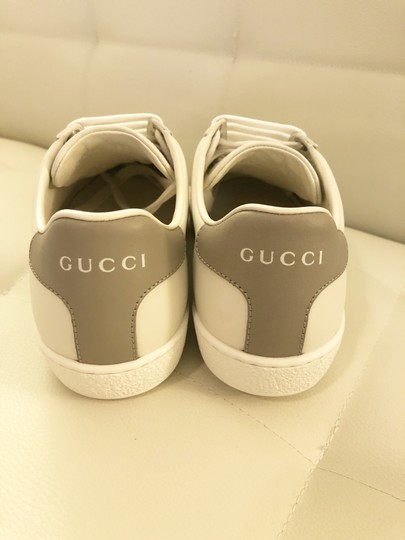Gucci Ace Sneaker Gg White and gray Athletic Image 3