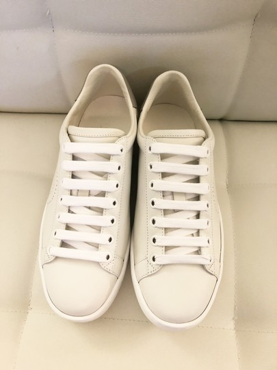 Gucci Ace Sneaker Gg White and gray Athletic Image 4